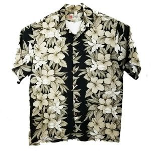 Hilo Hattie Hawaiian Made Aloha Shirt Size XL